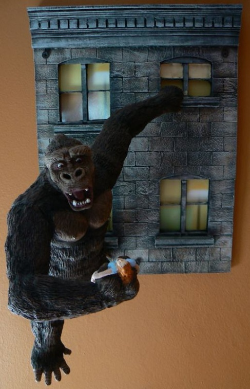 Kong at the Wall